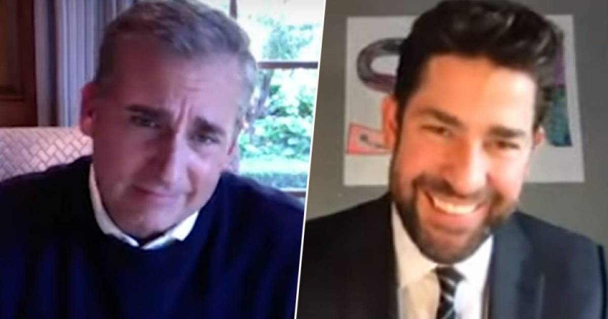 """To Cheer People Up The Office's John Krasinski Has Launched A Home Based Youtube Channel """"Some Good News"""""""