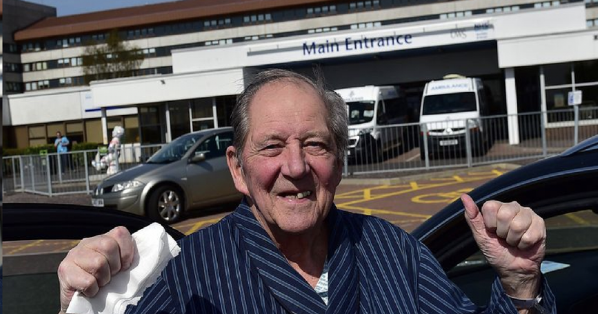Grandad With One Lung After Double Cancer Beats Coronavirus Miraculously After 4-Week Hospital Battle