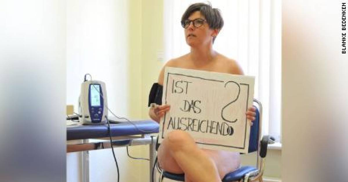 German Doctors Are Posing Naked To Protest Against The Shortage Of PPEs