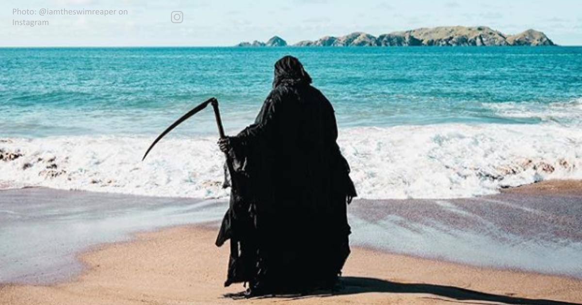Florida Attorney Goes To Beaches Dressed As Grim Reaper, Protests Against Reopening