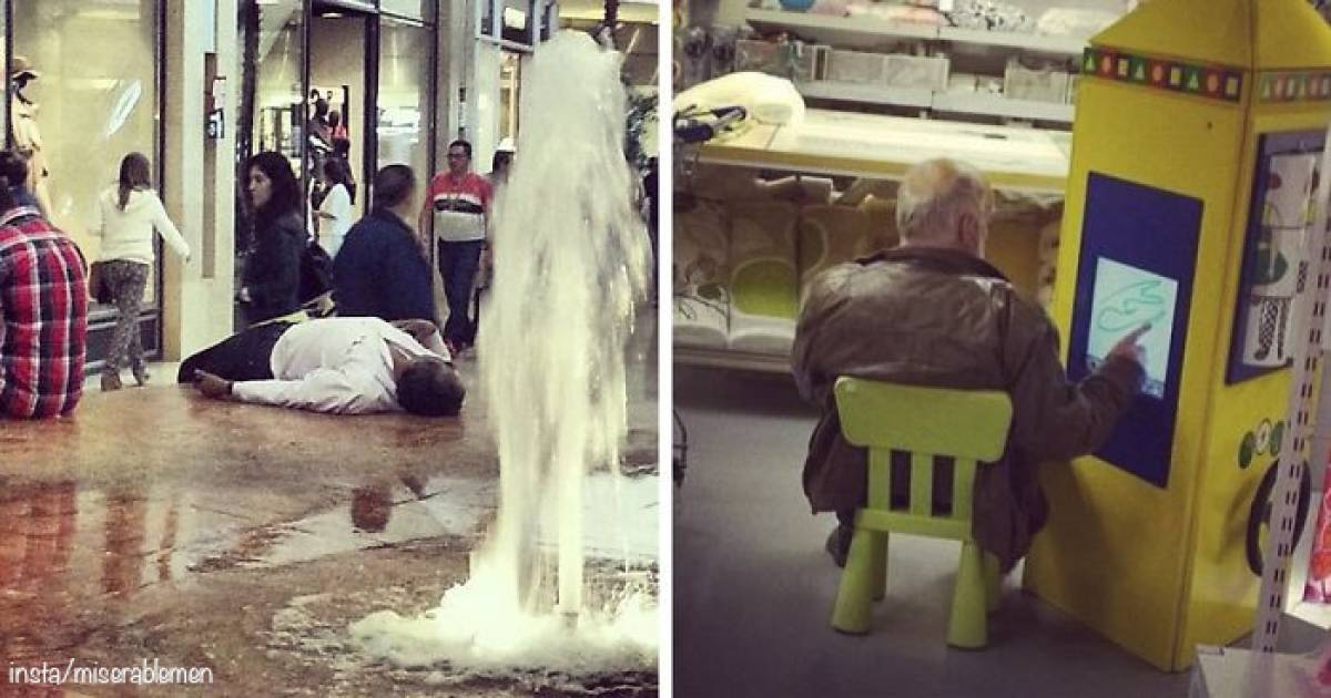 10 Photos Of Miserable Men Stuck In A Shopping Mall With Their Women Is The Funniest Thing You Will See Today