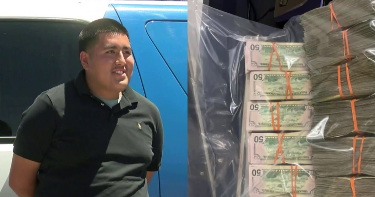 Honest Teenager Found $135,000 On Floor, Returns The Whole Money Responsibly To The Police