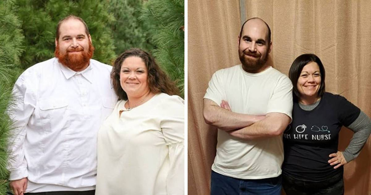 Couple Shares Their Astounding Weight Loss Transformation Journey