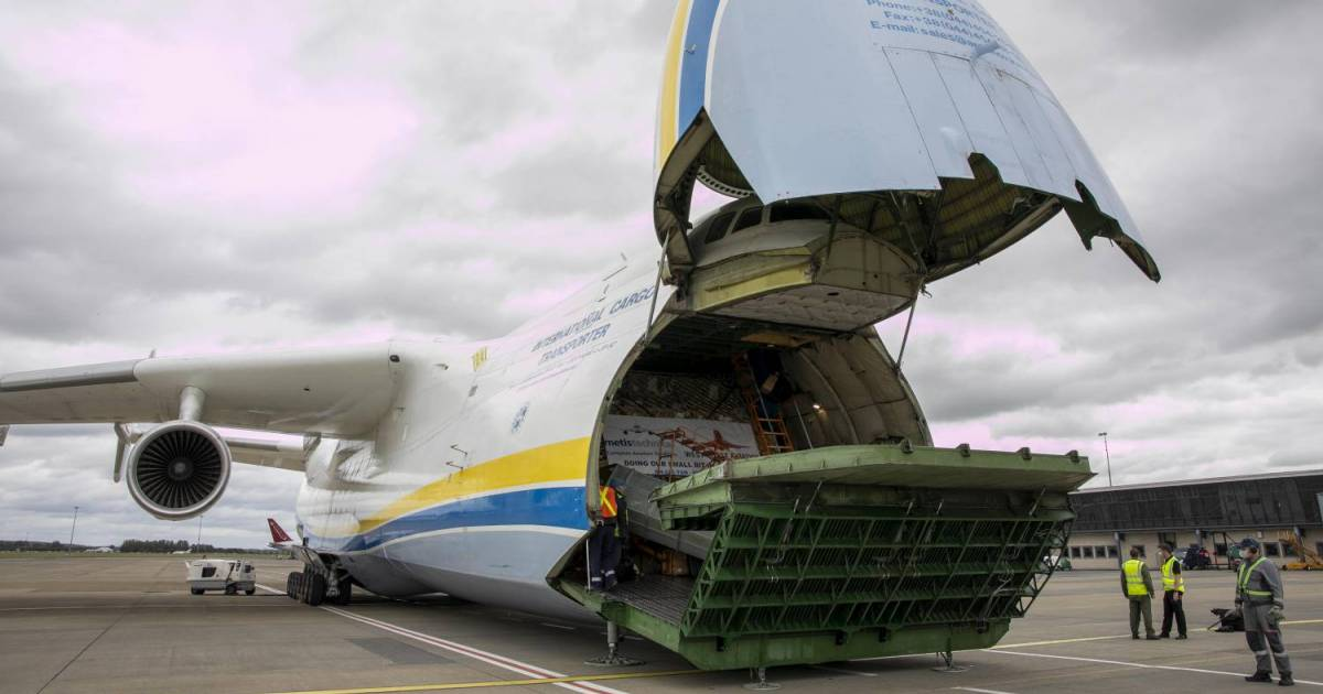 World's Biggest Aircraft Lands In Ireland Carrying PPE From China