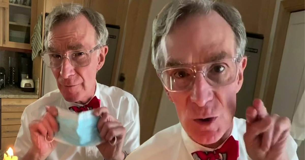 Bill Nye Breaks Down The Reason Why We All Need To Wear Masks In A Tik Tok Video