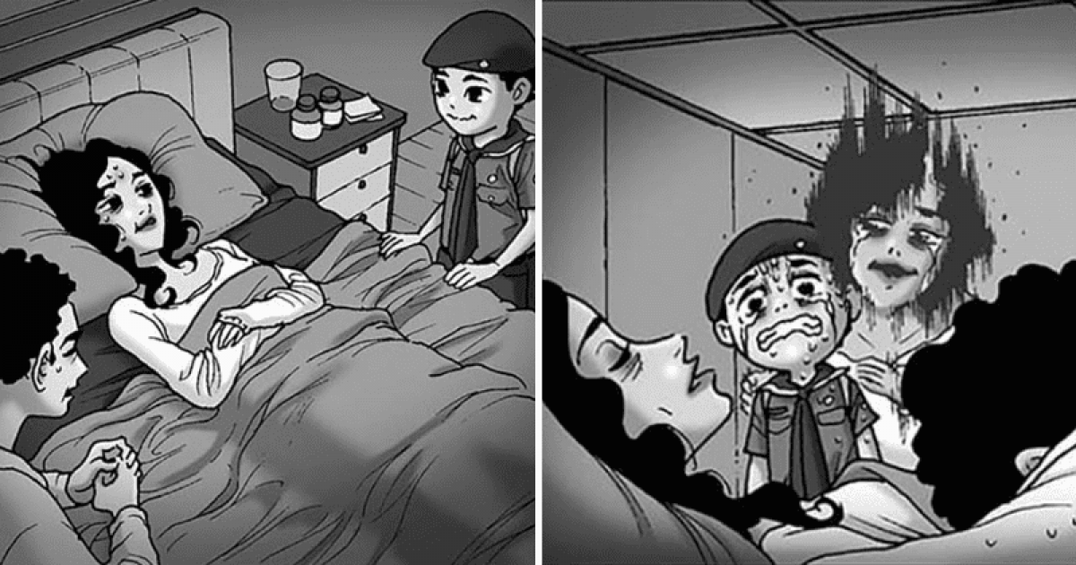 7 Comics Horror Stories That Will Creep You Out With Its Visuals Only
