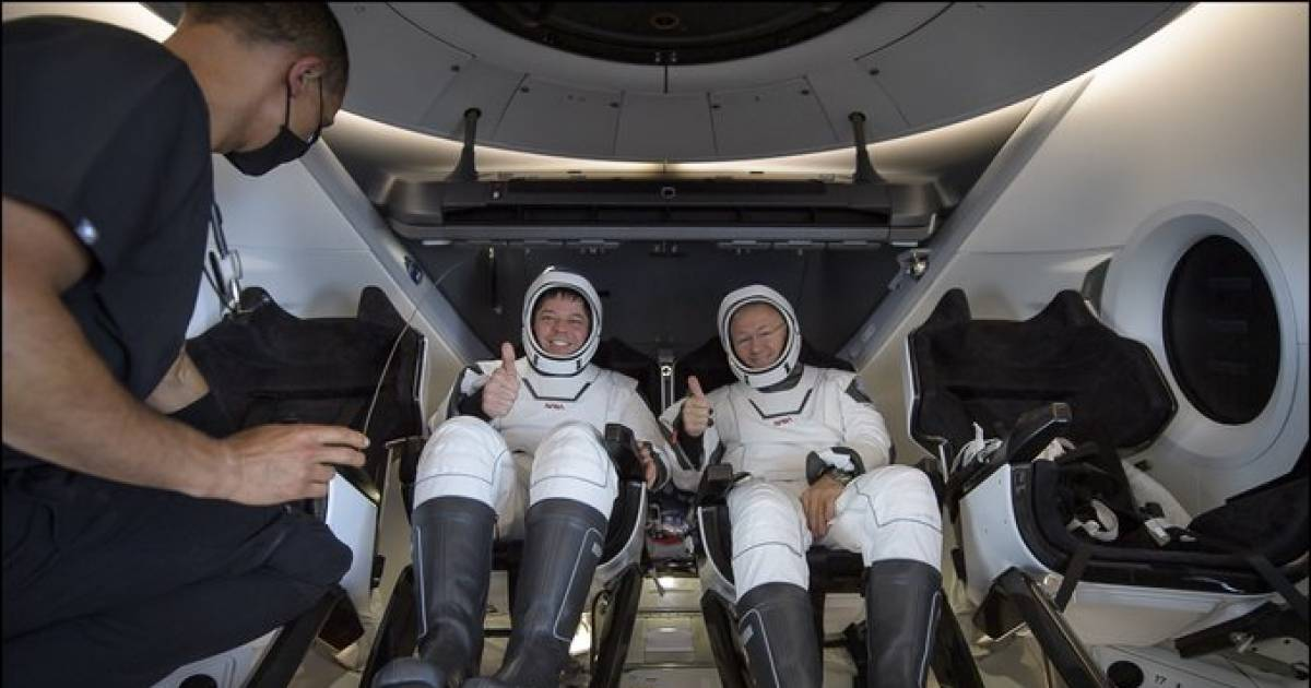 NASA Astronauts Safely Return To Earth From A Historic Mission In A SpaceX Craft