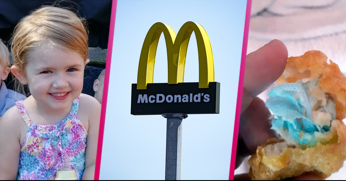 Furious Mom Claims Her 6-Year Old Daughter Choked On A Blue Face Mask That Was 'Cooked Inside McDonald's Chicken Nugget'