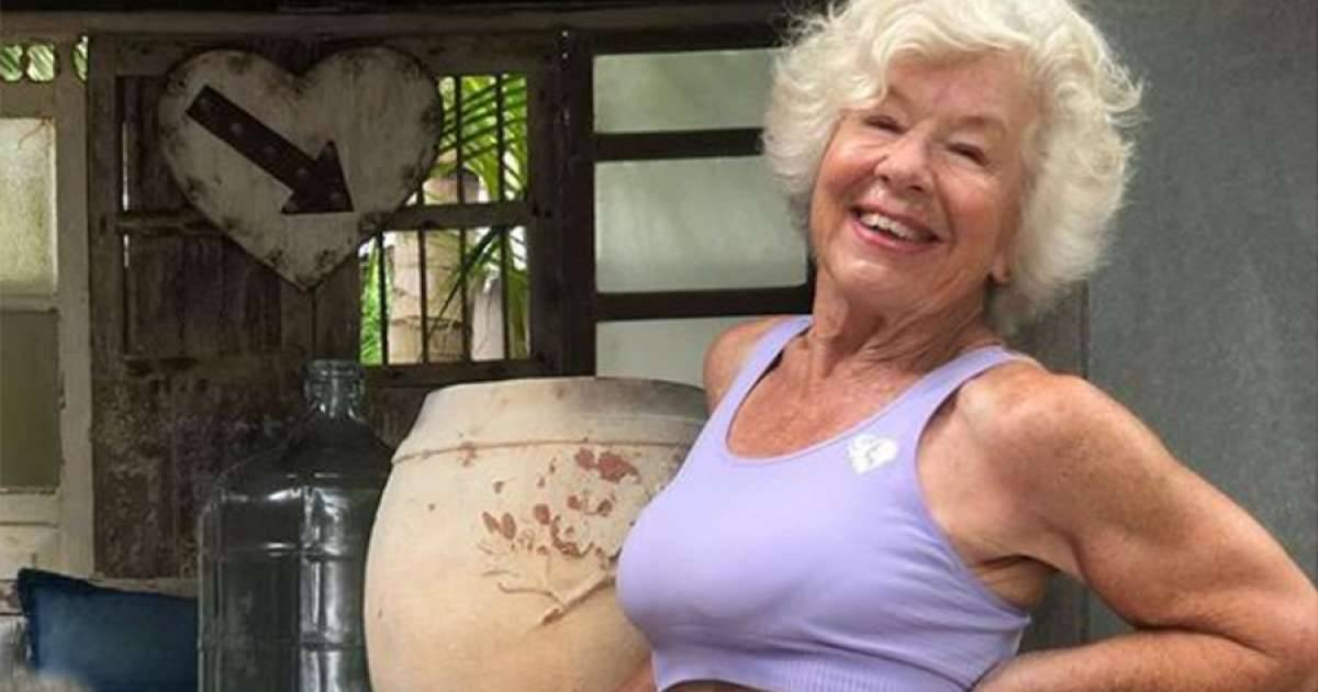 74-Year Old Woman Gets Viral Over Her Mindblowing Fitness Transformation