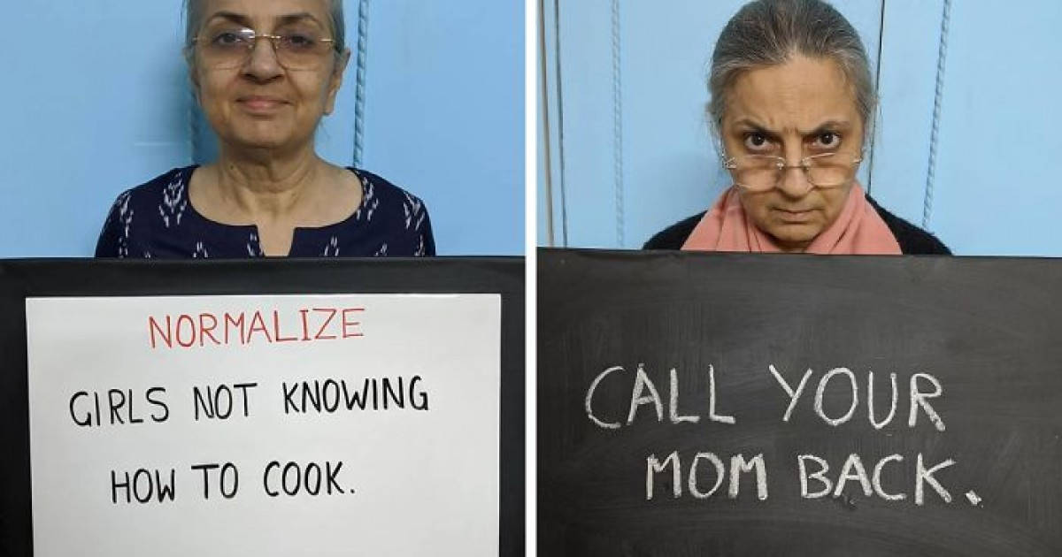 Indian Mom Goes Viral On Social Media After Her Son Encourages Her To Share Her Words Of Wisdom With The World
