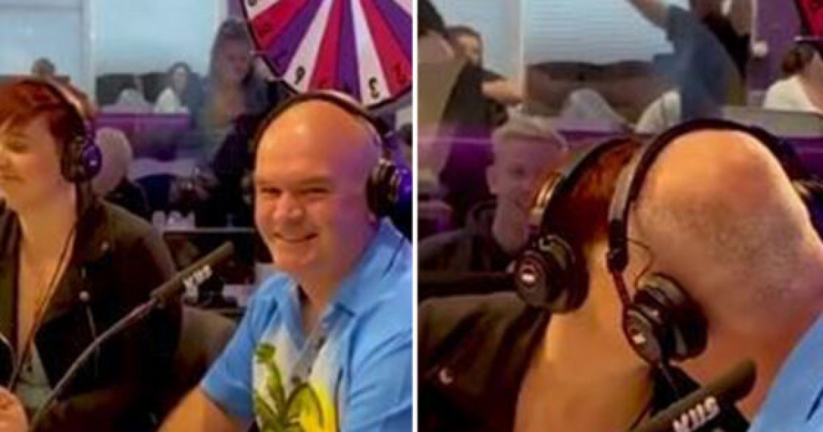Bizarre Moment When Woman Makes Out With Dad On Live Radio Show To Win A Prize Of $1000