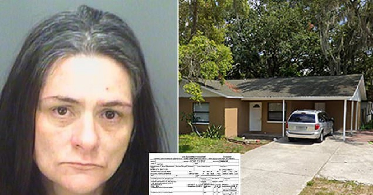 Florida Woman Arrested After Cruelly Beating Her Father For Farting Too Much
