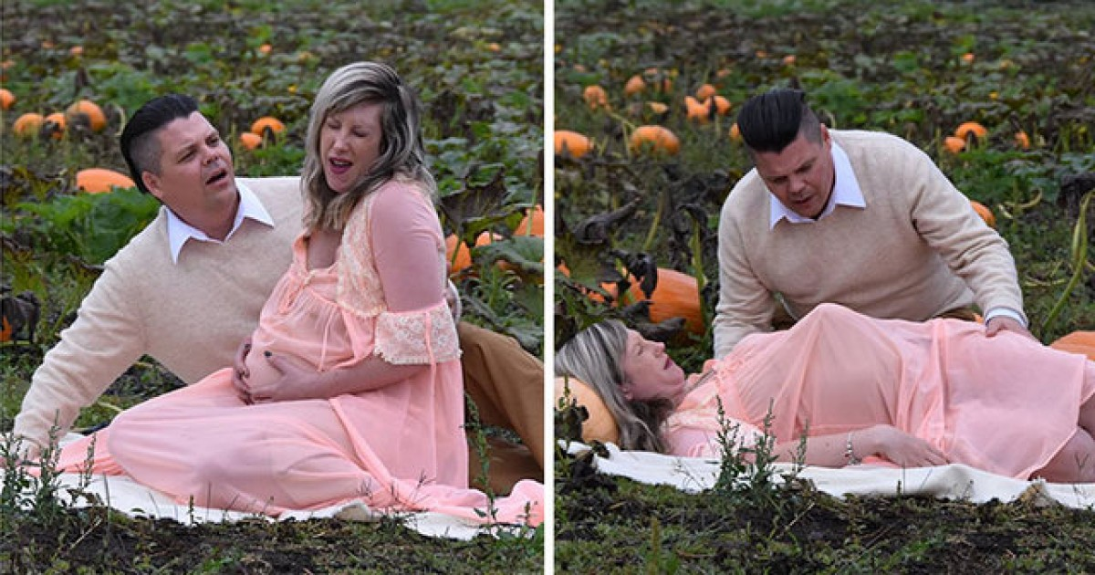 This Maternity Photoshoot Is The Nastiest Shoot Ever
