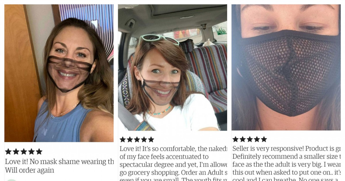 "What Is Wrong With These 30 People Who Are Loving These ""Breathable"" Face Masks On Etsy?"