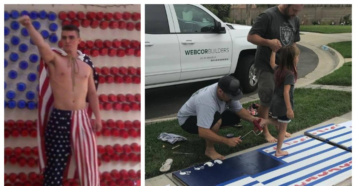 21 Hilarious Pictures Show People Taking 4th Of July Very Seriously