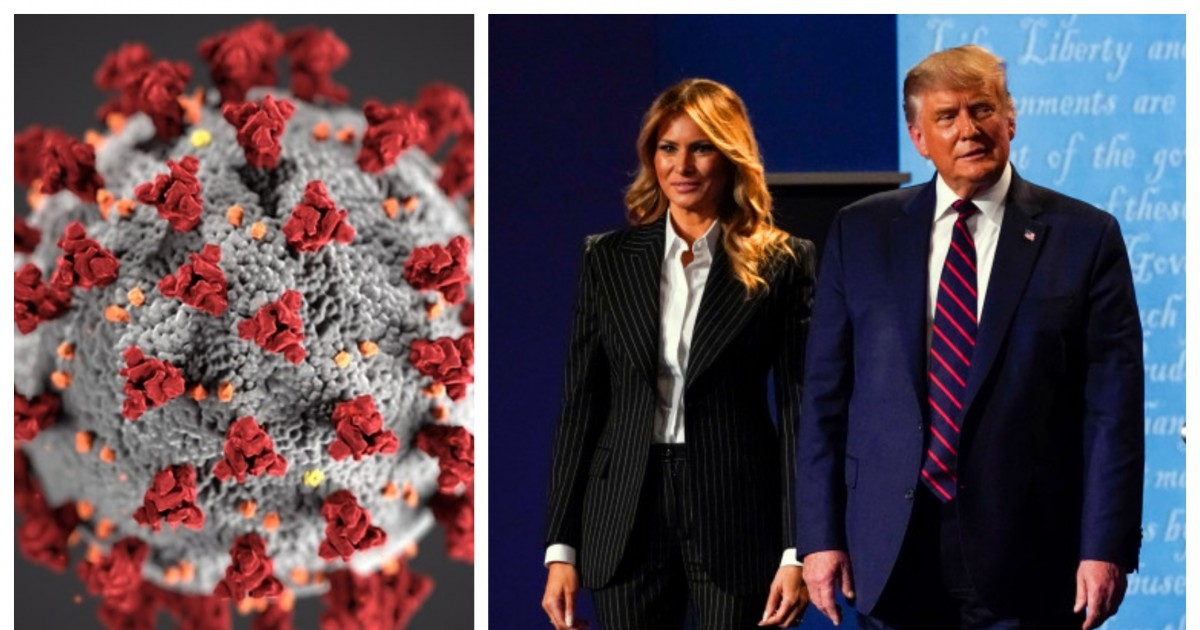 President Trump And First Lady Tests Positive For Coronavirus Just 32 Days Before The Elections