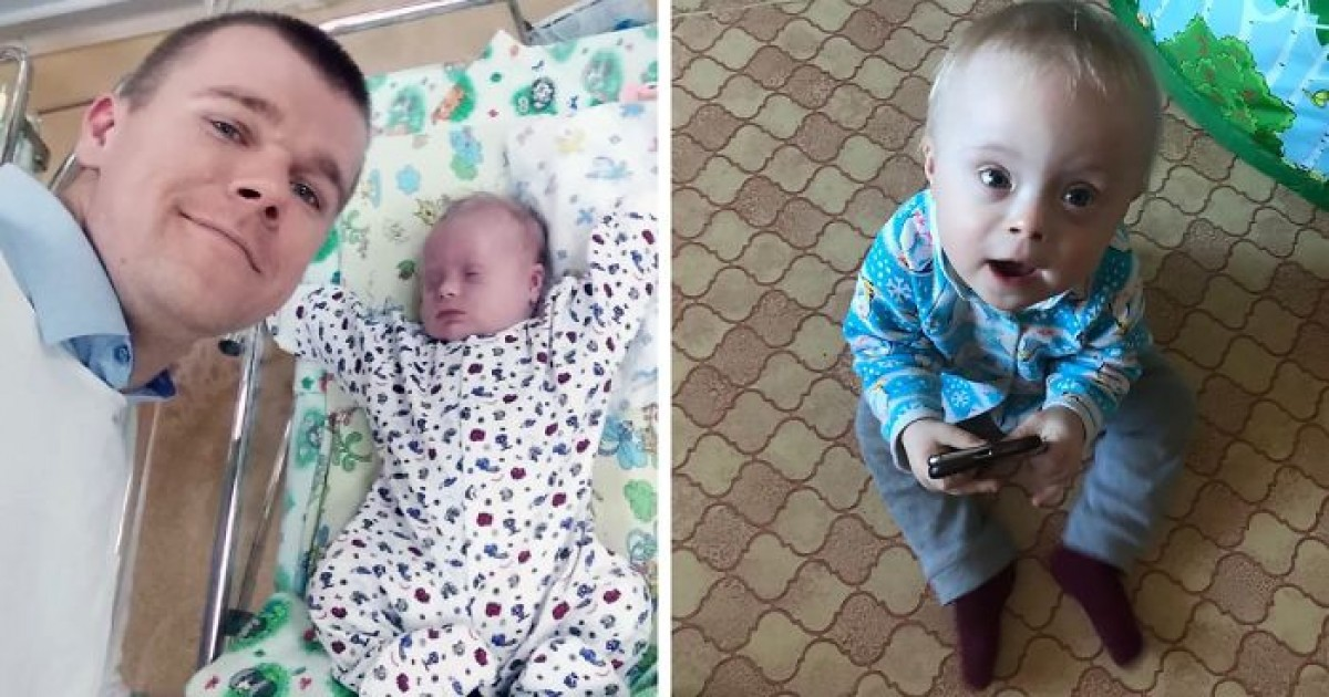 Mom Wanted To Give Up Her Son With Down Syndrome To Foster Care, Dad Decided To Raise The Little One On His Own