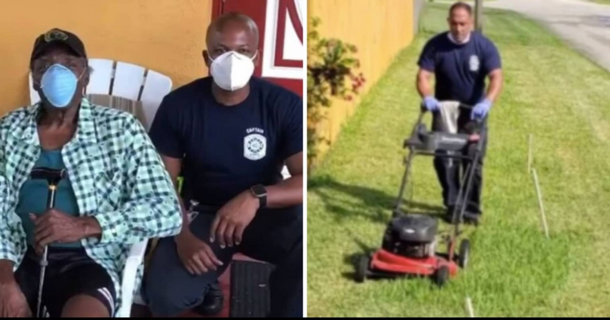 First Responders Save Life Of 80-Year Old Veteran And Then Completes His House Chores