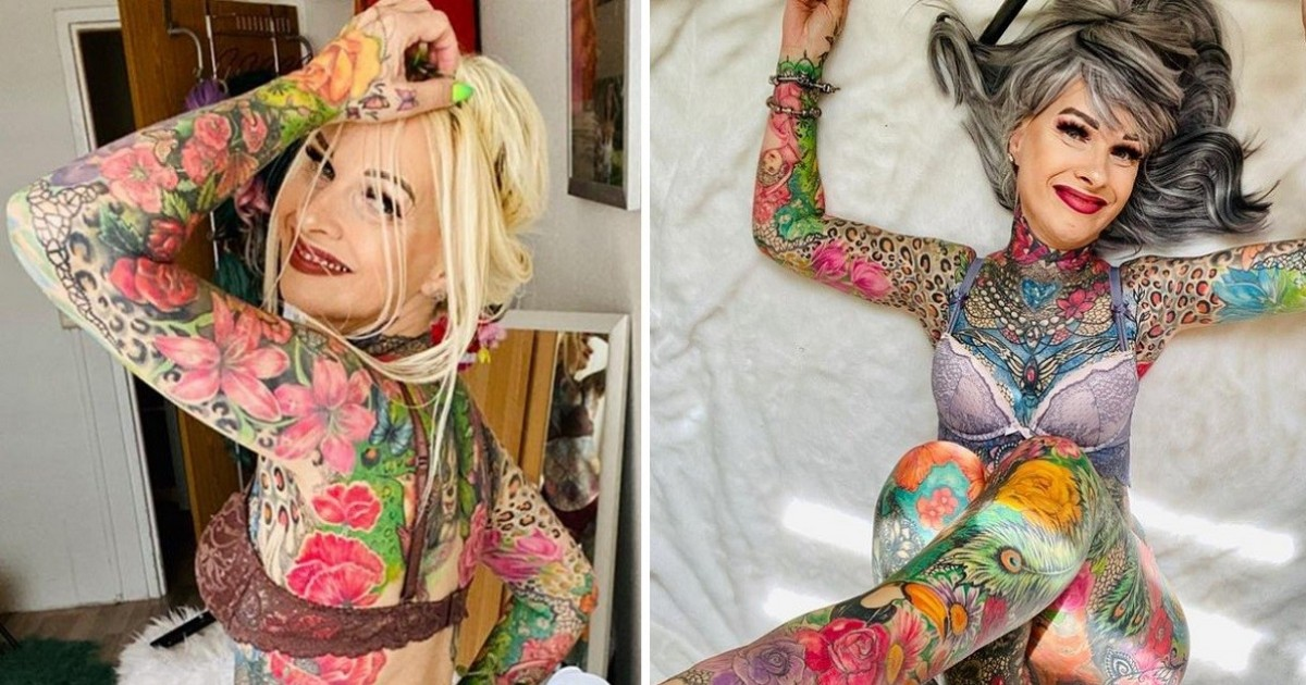 Woman, 55, Who's Spent Almost $39,000 (£30,000) On Tattoos Often Gets Asked If Her Genitals Are Inked