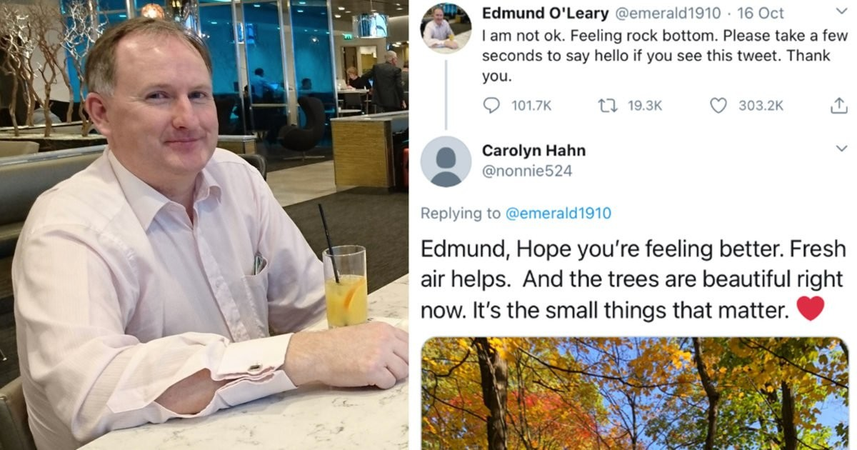 Unemployed Dad Who Tweeted Saying He Was 'Not OK' Receives Over 100,000 Replies