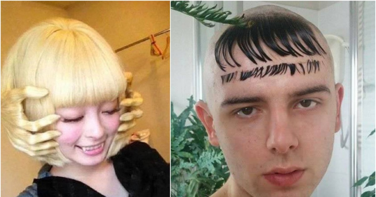 Bizarre Hairstyles That You'll Love And Hate At The Same Time