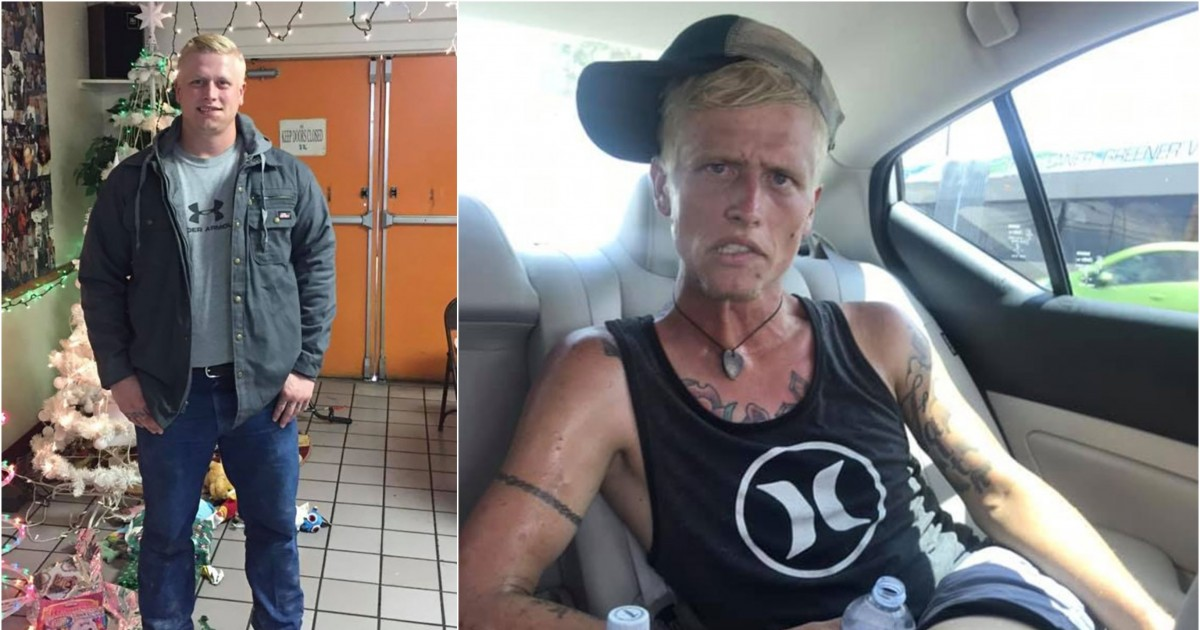 Heartbroken Mother Shares Before and After Photos Of Her Oldest Son, Showing What Heroin Addiction Can Do In 7 Months