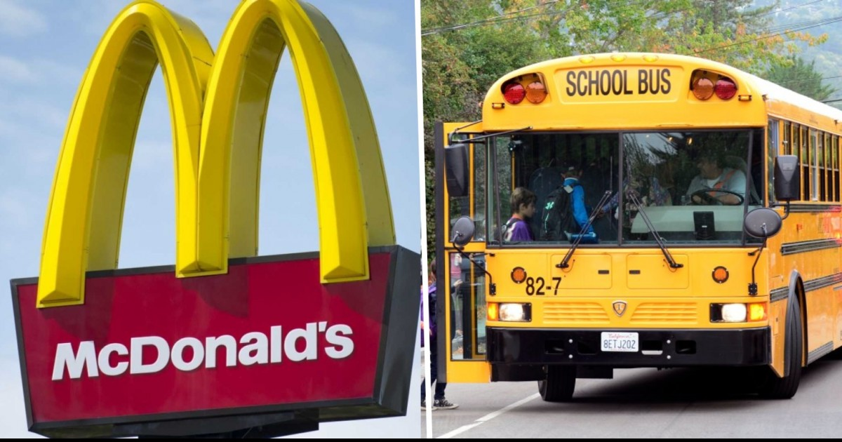 School Bus Driver Arrested After Driving Drunk And Taking Kids To Local McDonald's