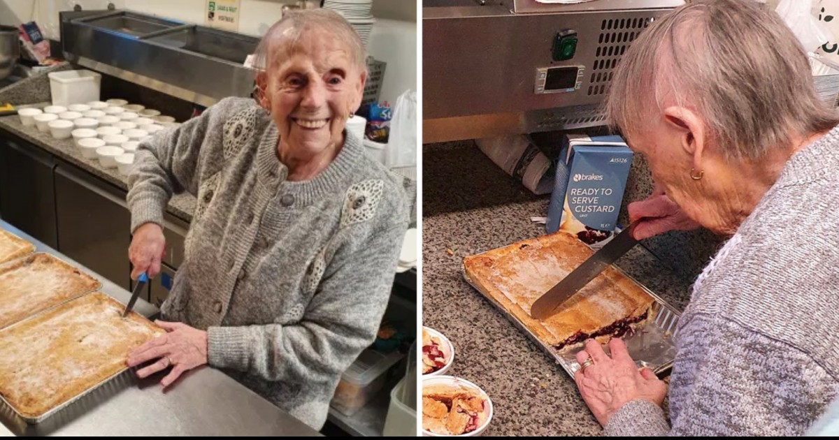 Hero Great-Great-Grandmother Bakes Hundreds Of Pies To Feed Hungry Kids