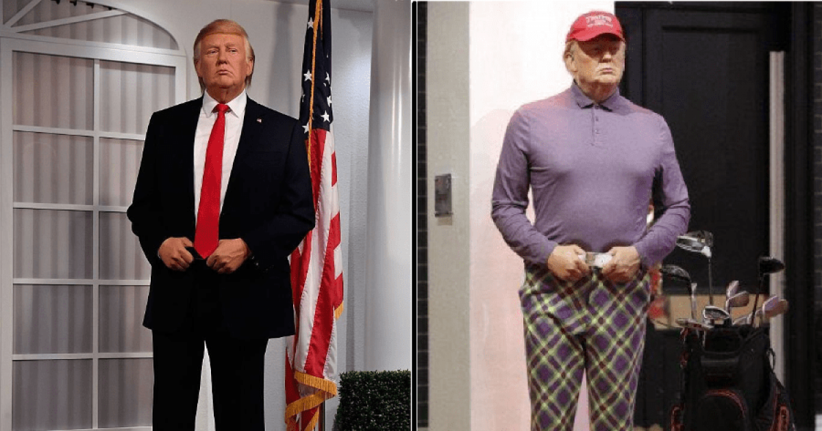Madame Tussauds Put Trump In Golfing Attire After Election Loss