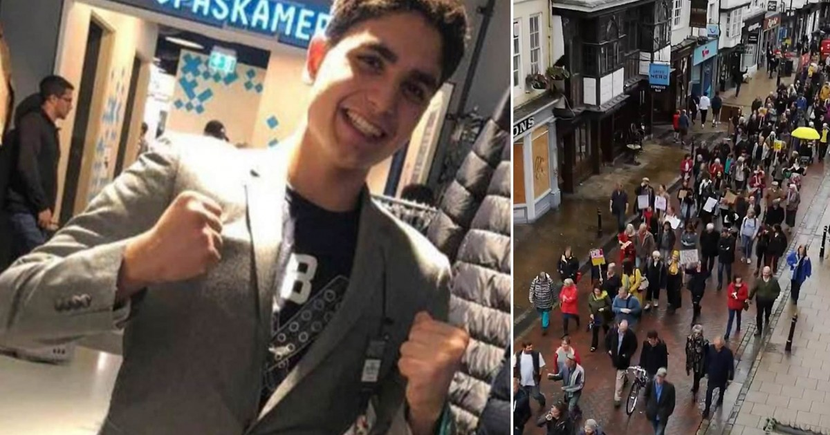 German Teenager Brutally Beaten With A Bag Of Bricks After The Teen Did Nazi Salute