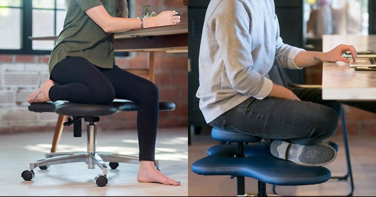 Love To Sit Cross-legged? -There's Now A Chair Just For You!