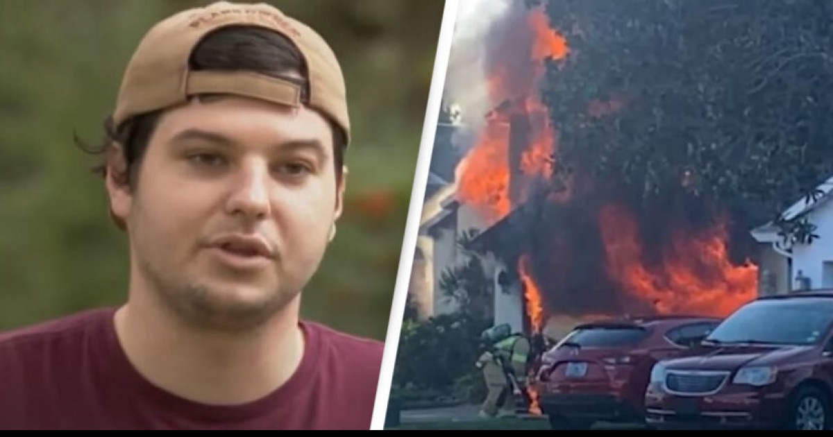 Amazon Delivery Driver In Florida Ran Into Burning House To Rescue Elderly Man