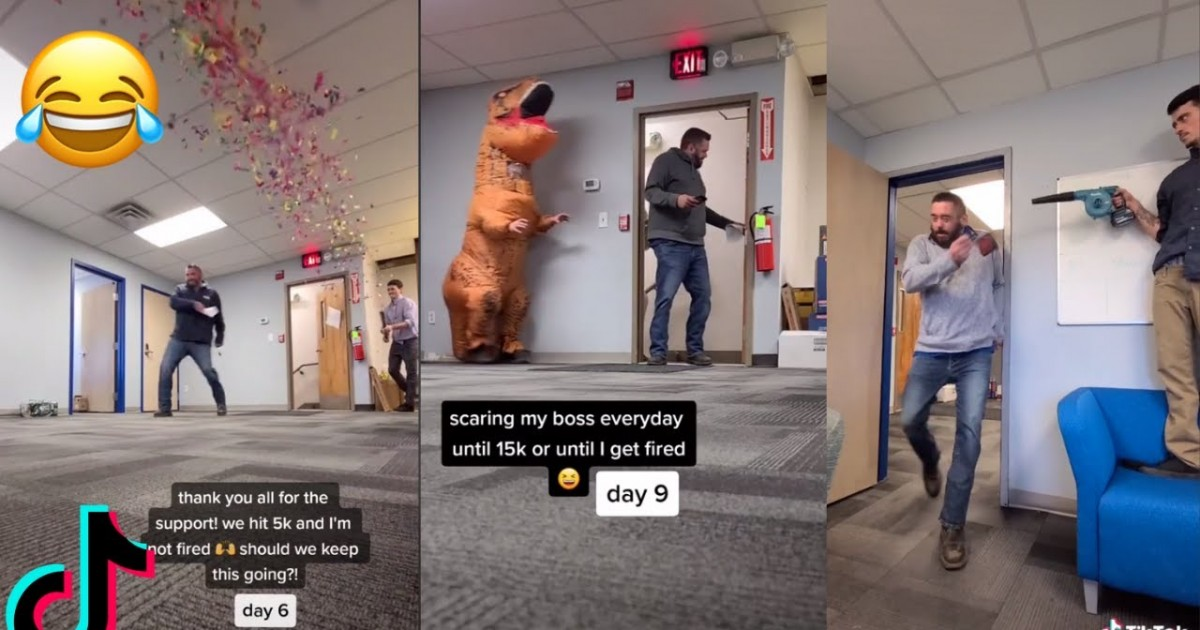 This Cool Man Decided To Scare His Boss Every Day 'Until He Gets Fired'
