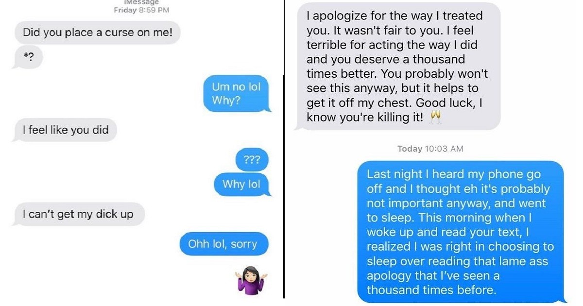 Desperate And WTF Texts from Crazy Exes