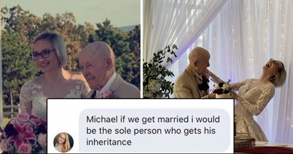 Twitter Loses It And Calls Teenager Gold-Digger After 19-Year Old Marries An 89-Year Old Man