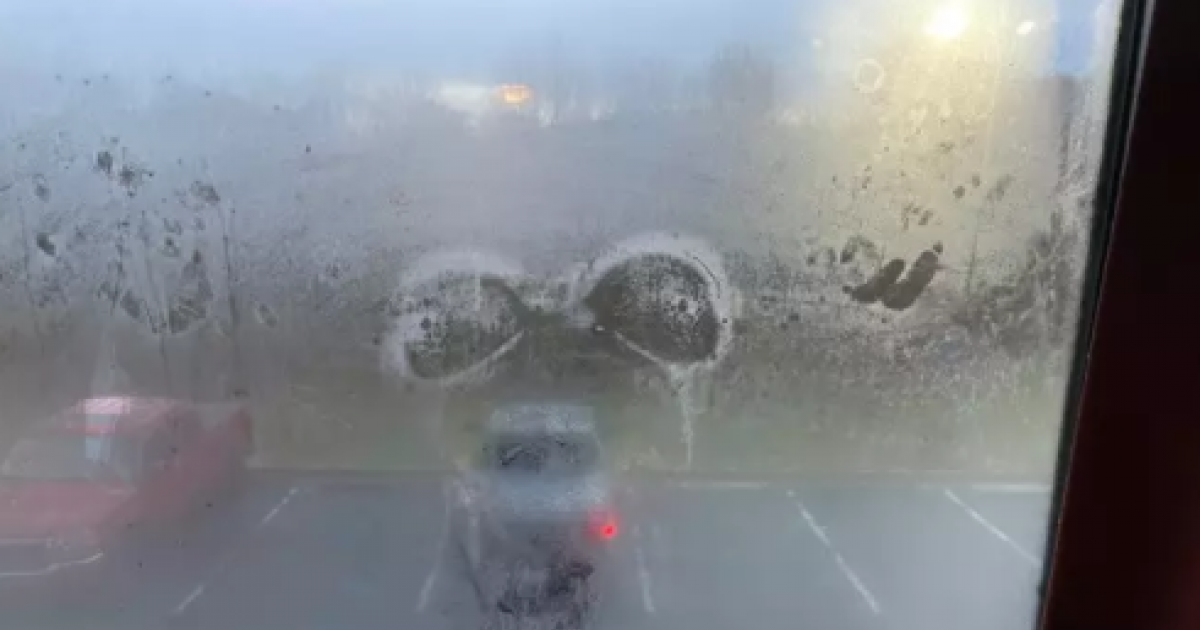 Woman Shares On Reddit X-Rated Marks Left On The Hotel Room's Window That Her Parents Stayed At