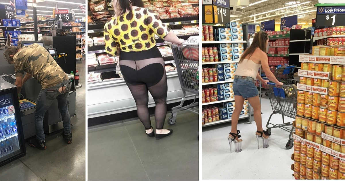 Crazy Things Witnessed In Walmart
