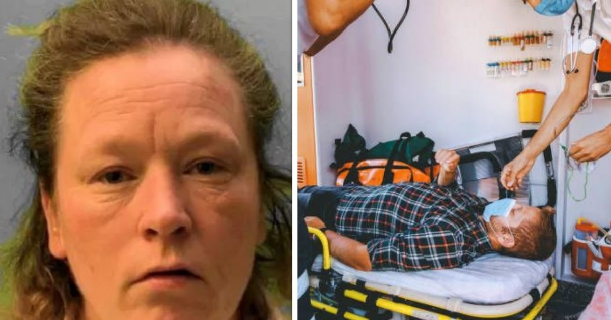Woman Attacked Paramedics As They Freed Her From Burning Home