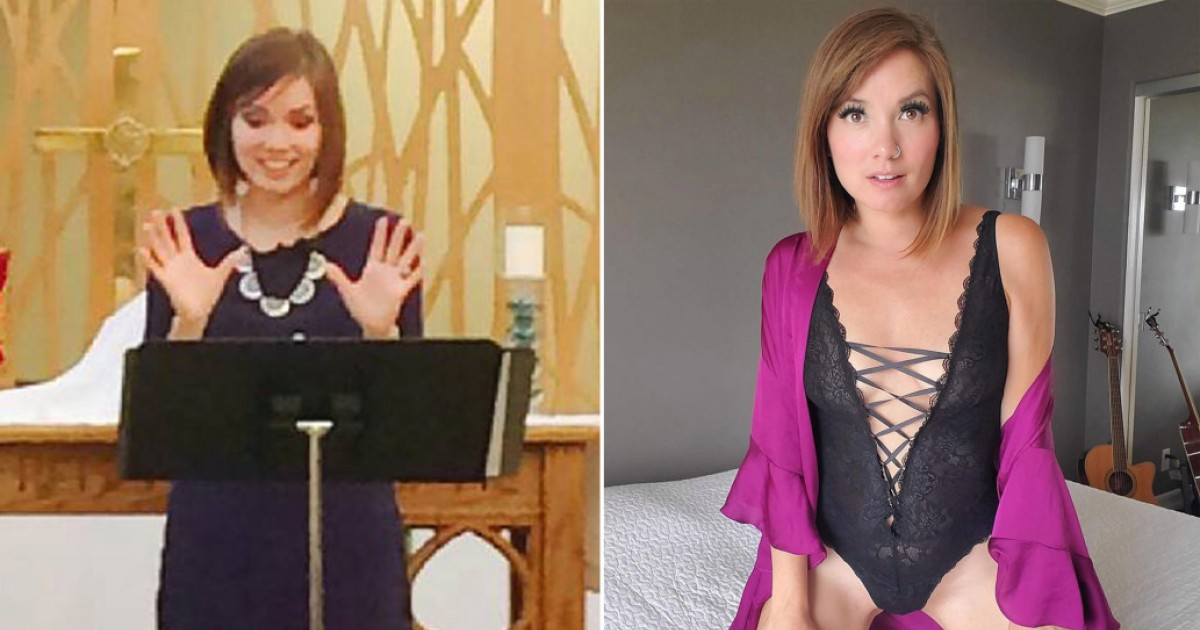 "Former Pastor Who Was ""Dating Jesus"" Says She Feels At Home After Becoming A Stripper And Starting An Onlyfans"