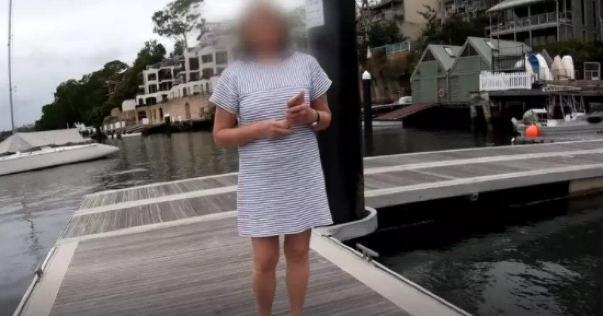 Angry Woman Threatens To Call Police On Fisherman For Killing And Chucking The Dead Fish Back In The Water