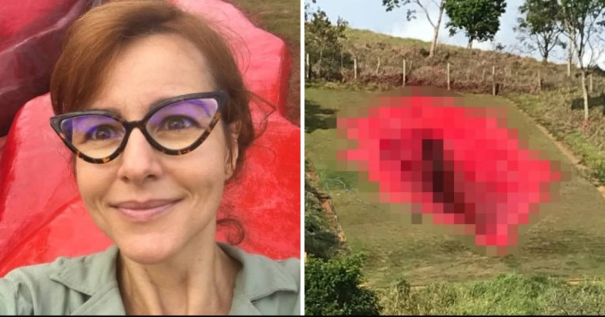 Neighbors Slam Brazilian Artist For Creating A 108-Foot Vagina Sculpture On Hill Near Her Home