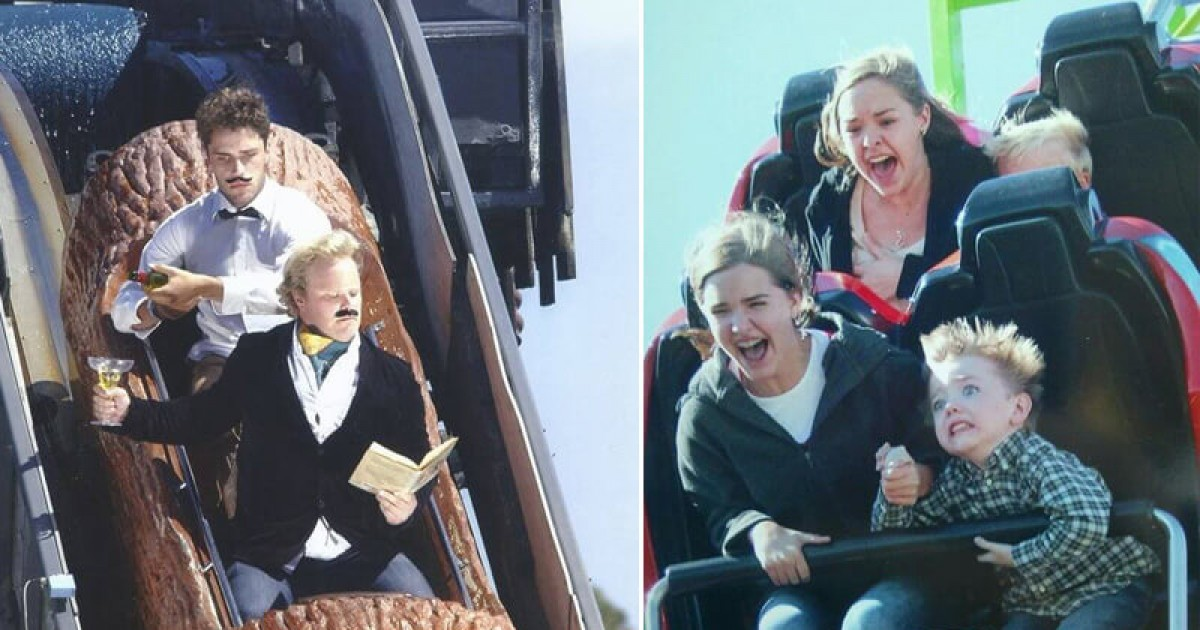 Most Hilarious Rollercoaster Pictures Ever Taken