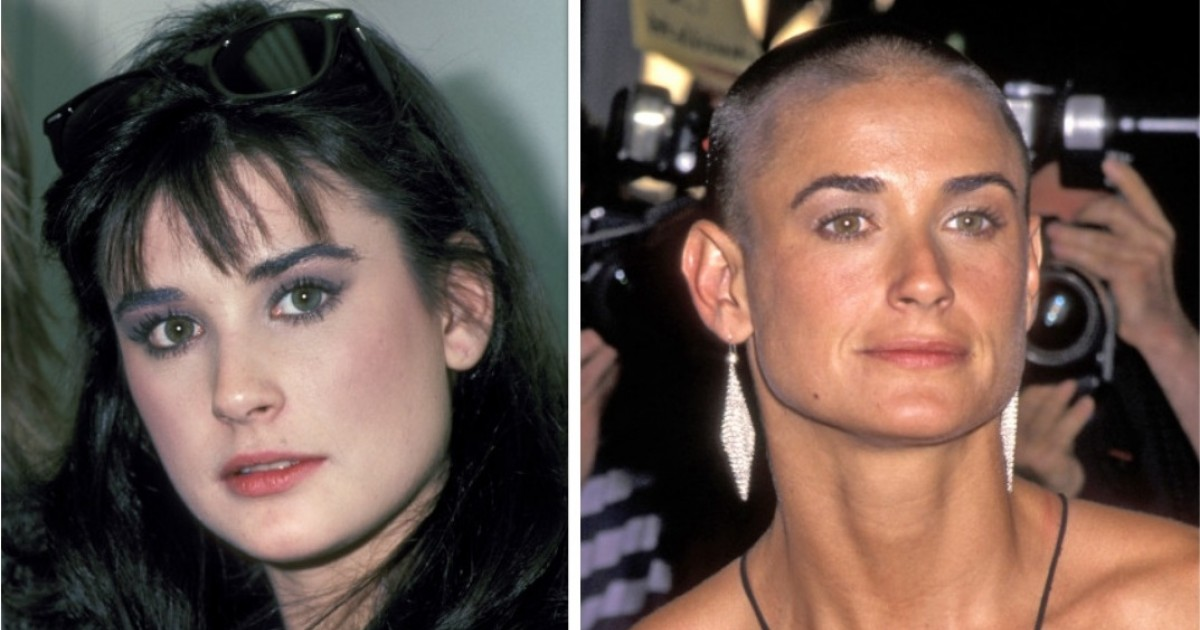Demi Moore's Transformation Through The Years And How Much She's Changed