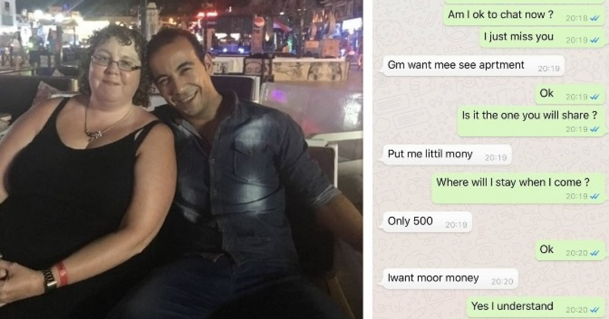 Woman Gutted After Her Egyptian Toyboy Dumped Her, Calling Her 'Fat' And 'Old'
