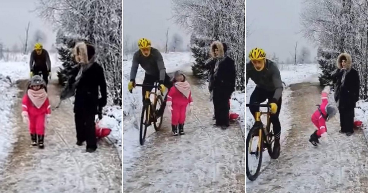 Cyclist Sparks Outrage In Belgium After Knocking Over A Child Blocking His Way