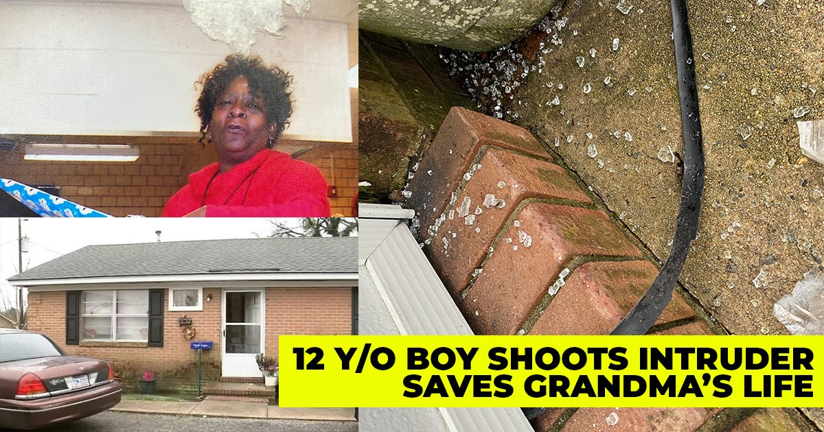 12-year-old Shoots Masked Intruder In Grandmother's Home