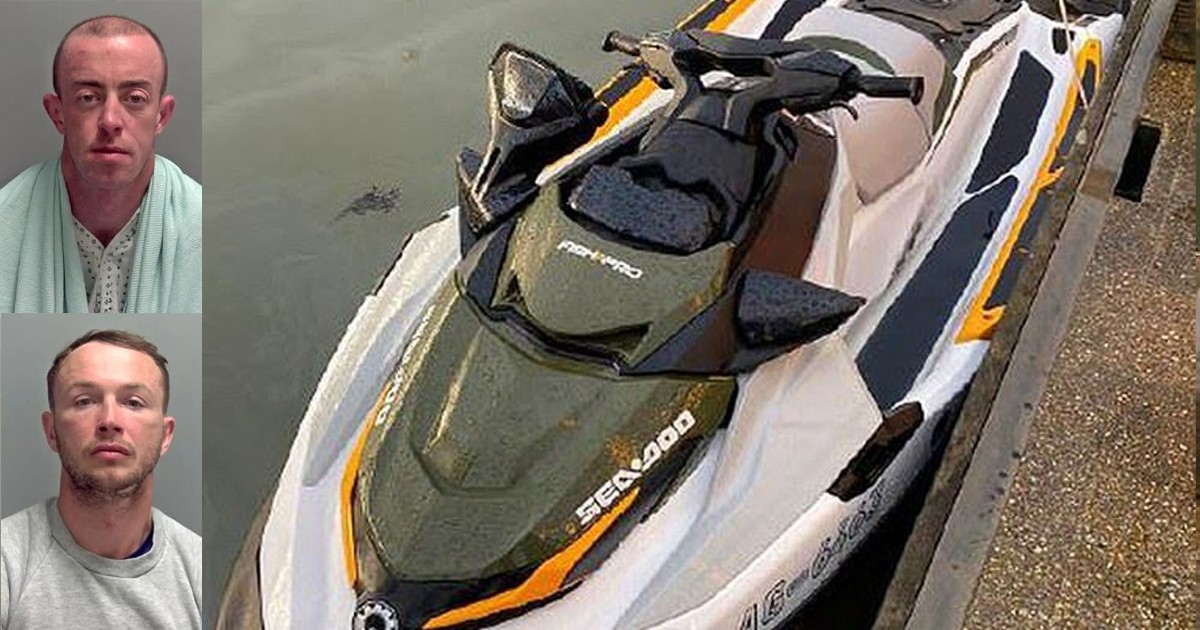 Drug Smugglers Caught Red-Handed After Jet Ski Breaks Down Intersecting North Sea