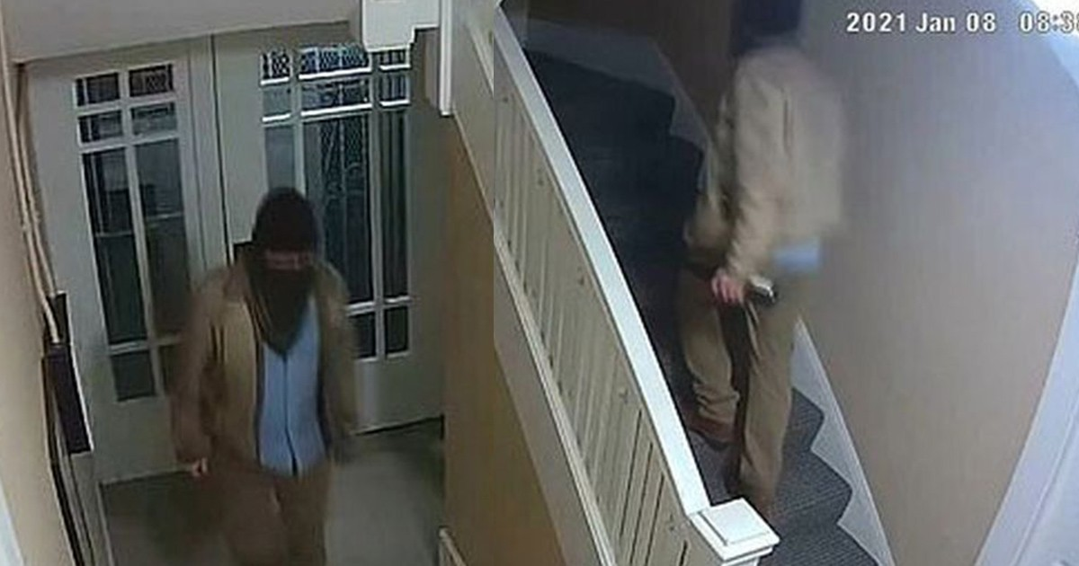 Man Enters His Apartment But Never Leaves In This Creepy CCTV Footage
