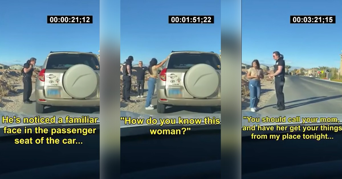 Cop Catches His Own Wife Cheating At A Routine Traffic Stop