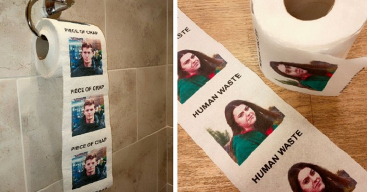 Now You Can Order Fully Customizable Toilet Paper Roll With Your Ex's Face Printed On It